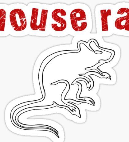 Mouse Rat Sticker