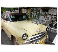 Cuban Chevrolet Poster