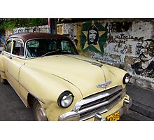Cuban Chevrolet Photographic Print