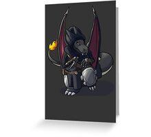 Final Fantasy - Charizard Rogue Greeting Card