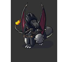 Final Fantasy - Charizard Rogue Photographic Print