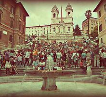 Piazza di Spagna, Rome by parvmos