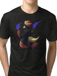 Final Fantasy - Delphox Dark Mage Tri-blend T-Shirt