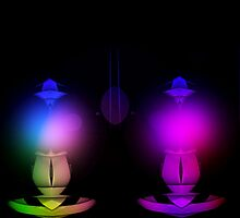 Curvilinear Project No. 10 ( Lanterns ) by CurvilinearArt