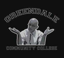 Greendale Community College - Dean Pelton Kids Tee