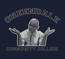 Greendale Community College - Dean Pelton Kids Tee
