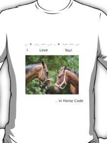 HORSE CODE  T-Shirt