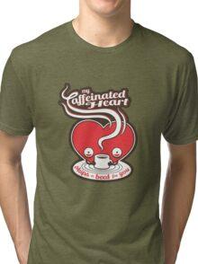 My Caffeinated Heart Tri-blend T-Shirt