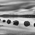 Loch Lomond Rocks by Brian Kerr