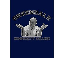 Greendale Community College - Dean Pelton Photographic Print