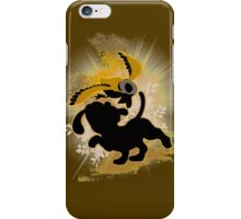 Super Smash Bros. Brown Duck Hunt Dog Silhouette iPhone Case/Skin
