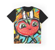 Berry Berry with a Football helmet Graphic T-Shirt