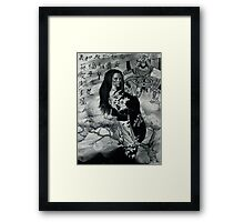 """Geisha of CALM"" ( FALL ) Framed Print"