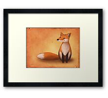 Smiling Fox Framed Print