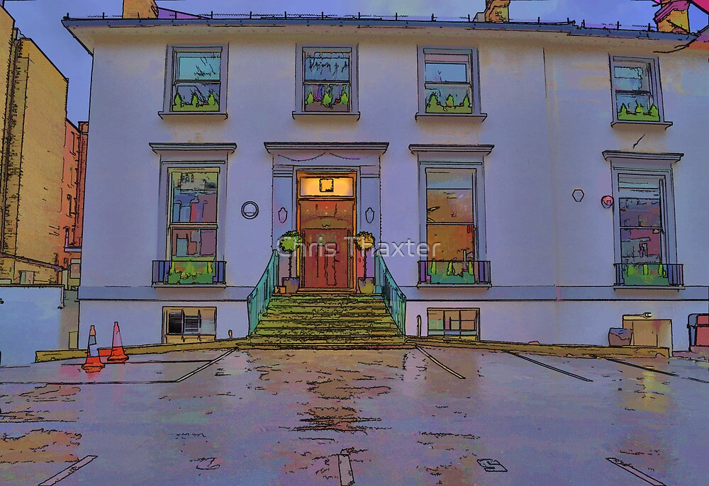 Abbey Road Recording Studios by Chris Thaxter