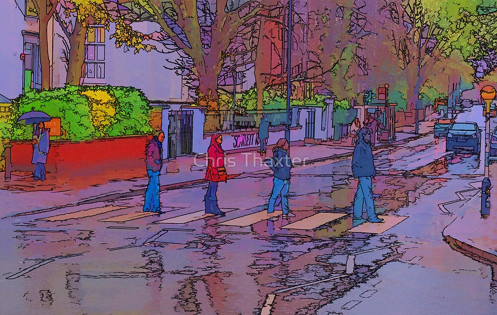 Abbey Road Crossing by Chris Thaxter