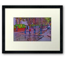 Abbey Road Crossing Framed Print