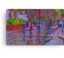 Abbey Road Crossing Canvas Print