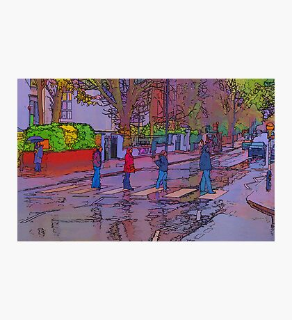 Abbey Road Crossing Photographic Print