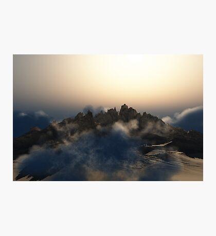 Pandora Landscape - Wasteland Mountains Photographic Print