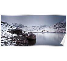 Snowdonia Lakes Poster