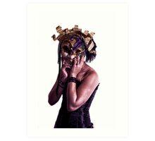 Mardi Mask Art Print