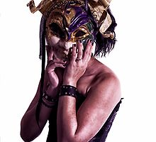 Mardi Mask by darkfocusphoto