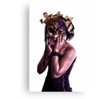 Mardi Mask Canvas Print