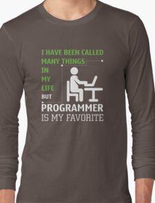 Programmer is my Favorite Long Sleeve T-Shirt