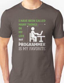 Programmer is my Favorite Unisex T-Shirt