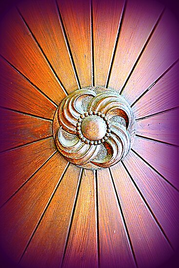 Bavarian Wooden Door by ©The Creative  Minds
