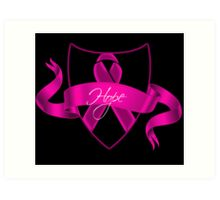 Breast Cancer Hope Poster Art Print