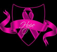 Breast Cancer Hope Poster by Sarah  Eldred