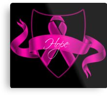 Breast Cancer Hope Poster Metal Print