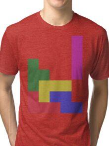 Blocks, Blocks, Blocks Tri-blend T-Shirt