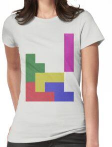 Blocks, Blocks, Blocks Womens Fitted T-Shirt