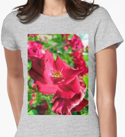 just cant last.... Womens Fitted T-Shirt