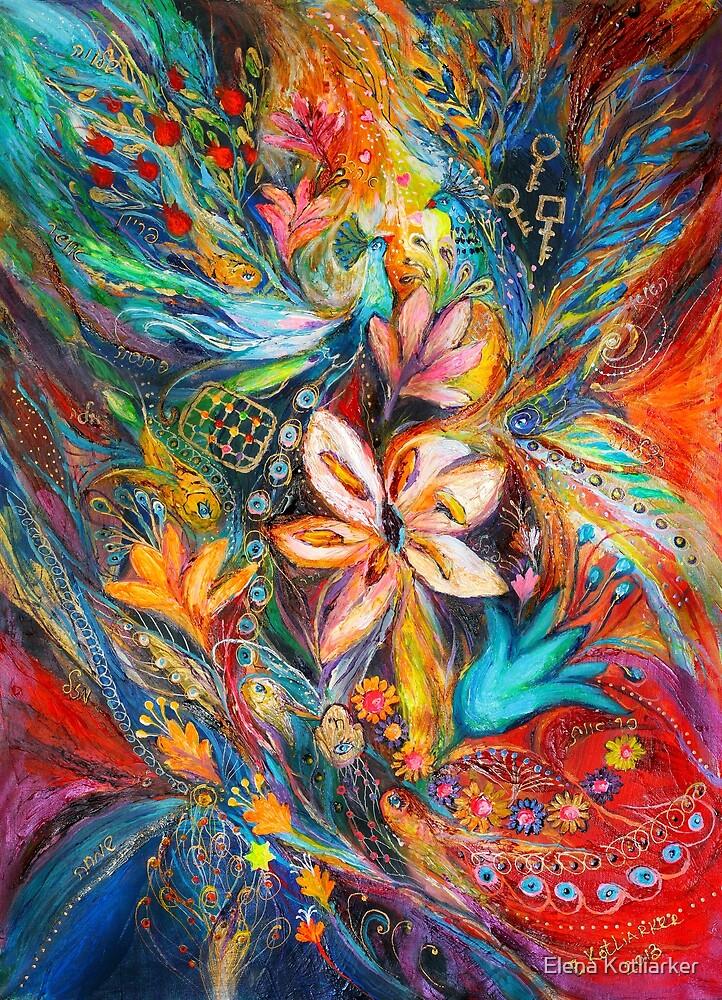 The Passion of Flowering by Elena Kotliarker