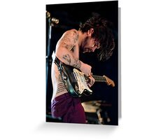 Biffy Clyro 08 Greeting Card