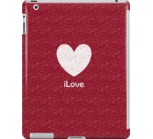 iLove iPad Case/Skin