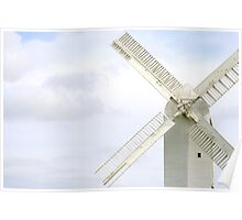 'Jill' Windmill, South Downs near Brighton Poster