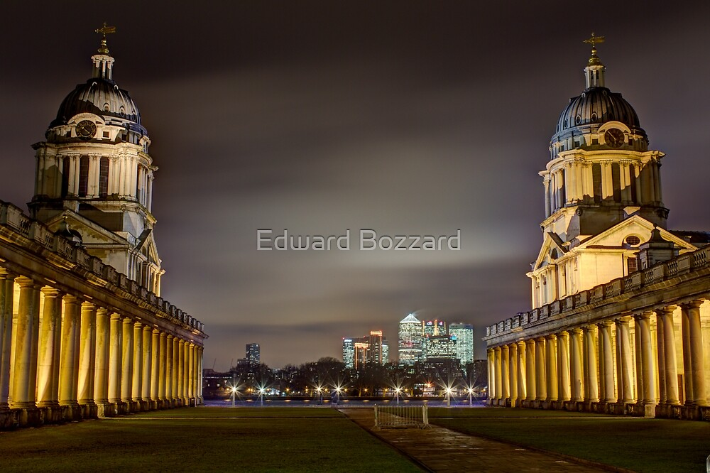 Old meets New by Edward Bozzard