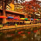 Cafe Rio on the San Antonio River by Jay  Goode