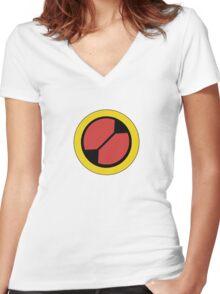 Megashirt Women's Fitted V-Neck T-Shirt