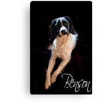 Benson  Canvas Print
