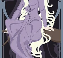 Amalthea Nouveau - The Last Unicorn by CptnLaserBeam