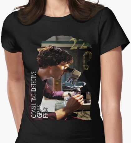 Sherlock - Consulting Detective Womens Fitted T-Shirt