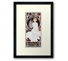 Childlike Empress Nouveau - Neverending Story Framed Print