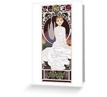 Childlike Empress Nouveau - Neverending Story Greeting Card