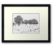 Tribute To Lowry Framed Print